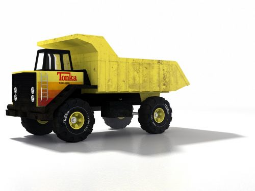 truck yellow transport