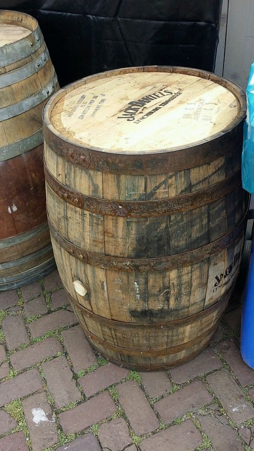 tons barrel alcohol