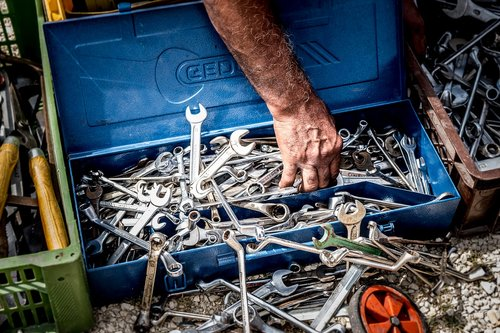 tool  wrench  toolbox