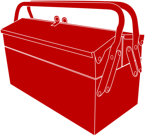 toolbox metal equipment