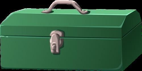 toolbox green box