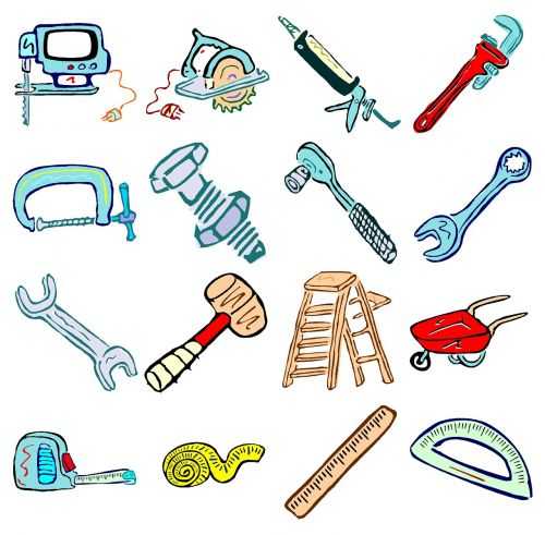 tools equipment handy man