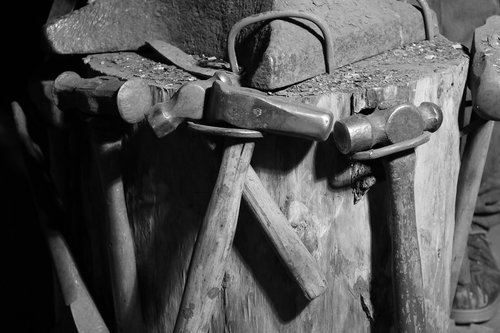tools  blacksmith  workshop