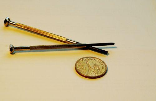 tools screwdriver coin