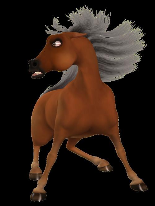 toon horse toonpferd