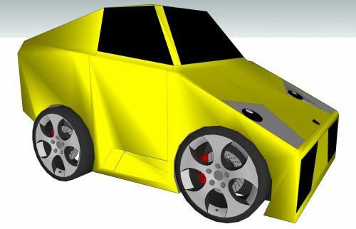 Toon Lamborghini