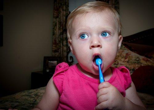 tooth brush  baby  child