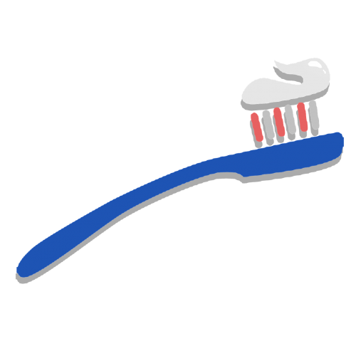 toothbrush clipart sticker