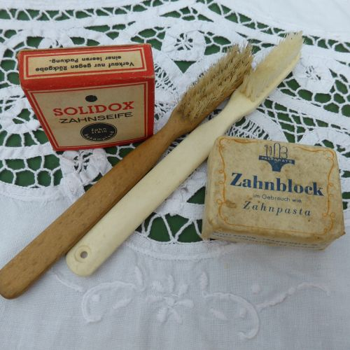 toothbrush antique brush