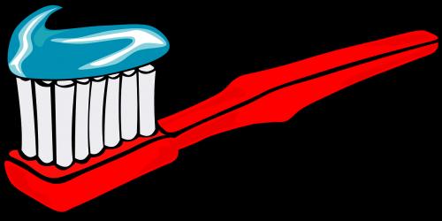 toothbrushe brush toothpaste