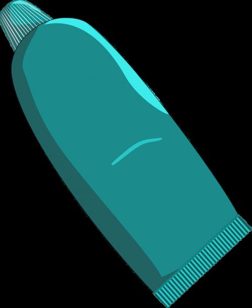 toothpaste tube paste
