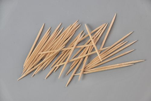 toothpick wood hygiene