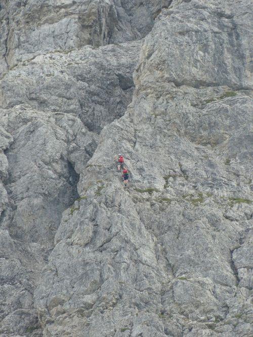 top of pools rock wall climb