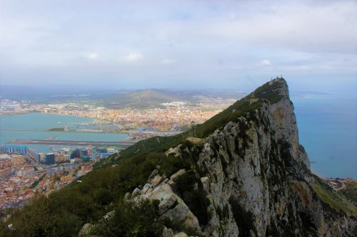 Top Of The Rock Of Gibraltar