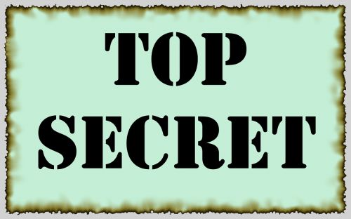 top secret secret spy