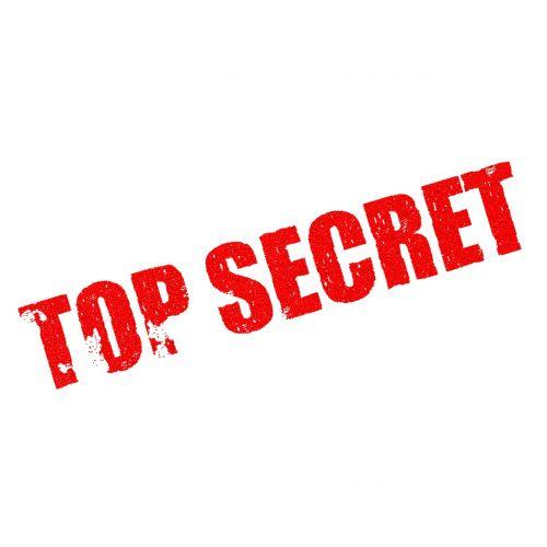 top secret classified confidential