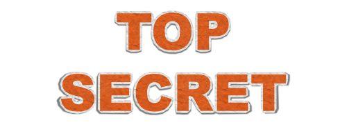 top secret spy confidential