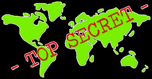 top secret confidential secret