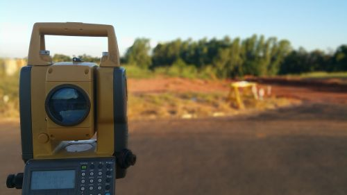 topography surveying total station