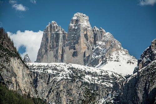 tops  mountain  dolomites
