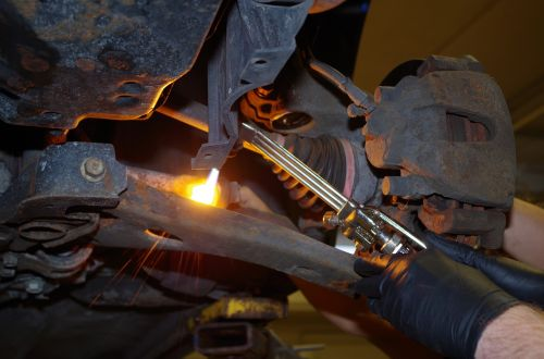 torch cutting automotive