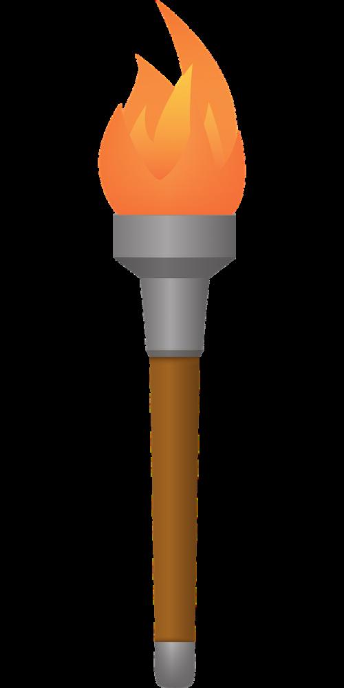 torchlight torch fire