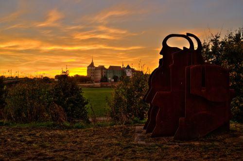 torgau castle saxony