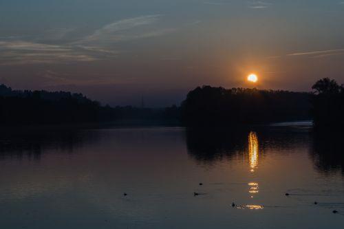 torino landscape sunset