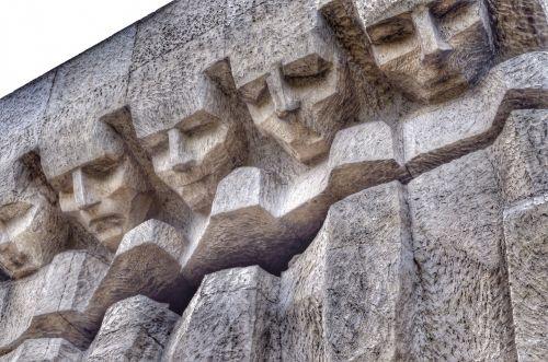Torn Hearts Memorial. Krakow.