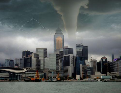 tornado storm lightning
