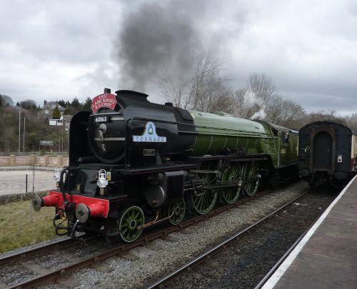 tornado steam train railway