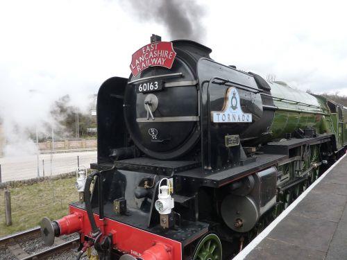 tornado steam engine train