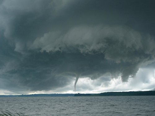 tornado  cyclone  assembly