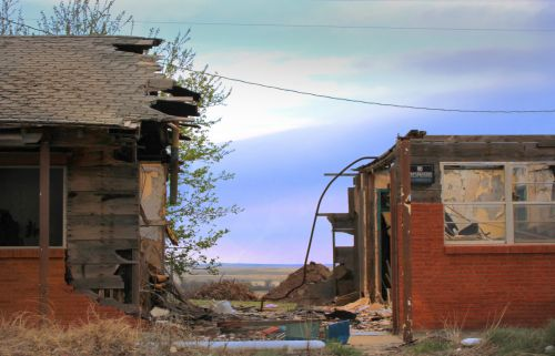 Tornado Damaged Hotel