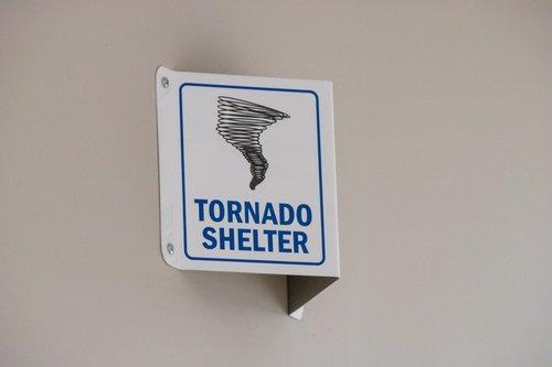 tornado warning  tornado shelter  tornado
