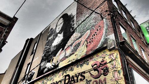 toronto graffity wall