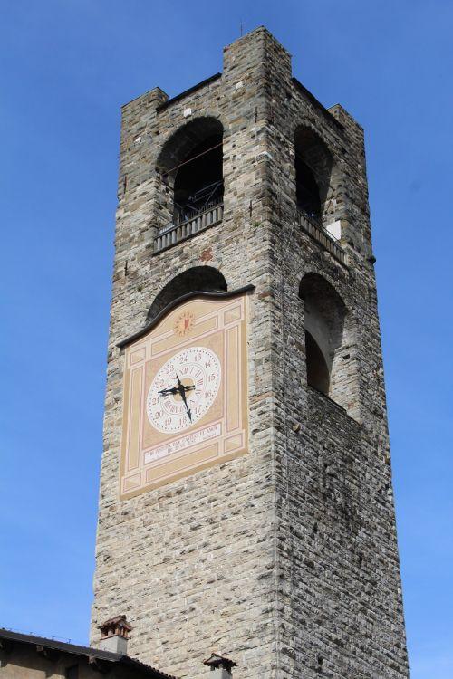 torre bergamo high city