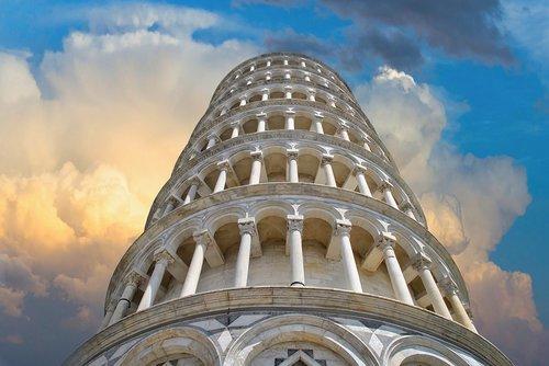 torre  pisa  color