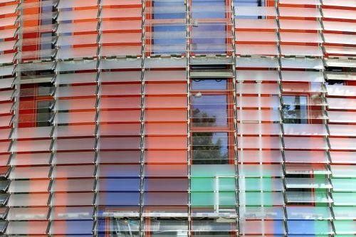 Torre Agbar,barcelona,Ispanija,biurų pastatas,architektūra,priekinis langas,langas