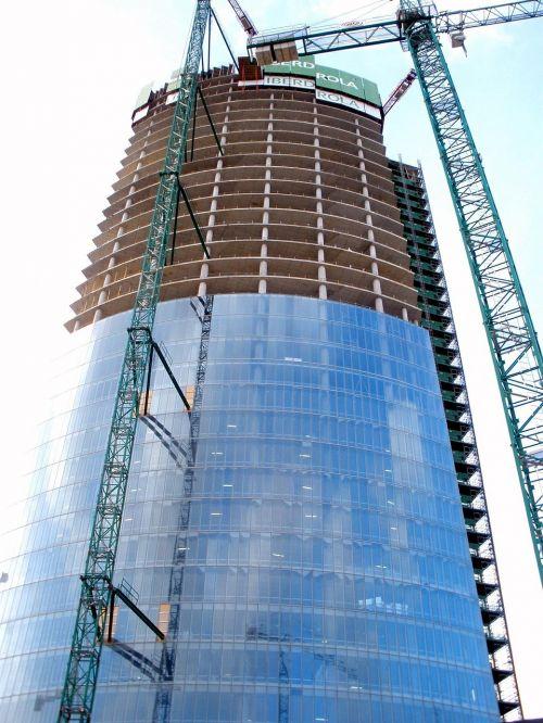 torre iberdrola bilbao spain