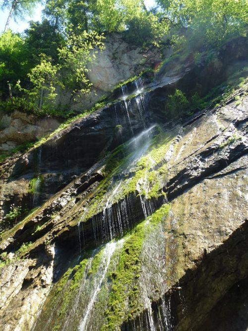 torrent wimbachklamm mountain stream