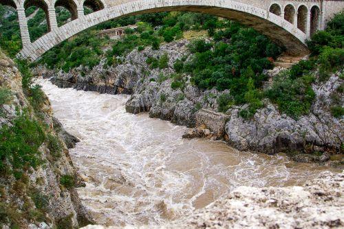 torrent bridge river