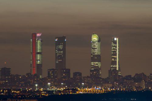 torres madrid madrid skyscrapers