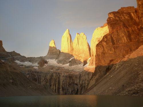 torres del paine,čile,patagonia,ledynas,gamta,kalnai,kraštovaizdis,Chilean patagonia,torres,skausmas,ežerai