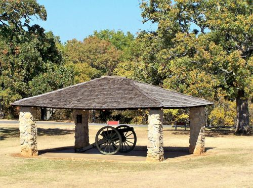 Fort Washita Cannon