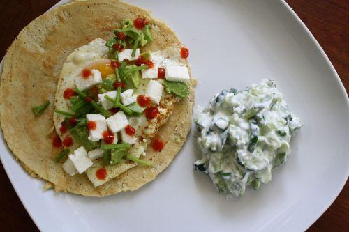 tortilla breakfast mexican