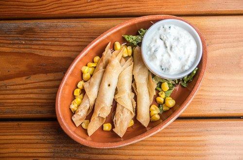 tortilla  taquitos  dip