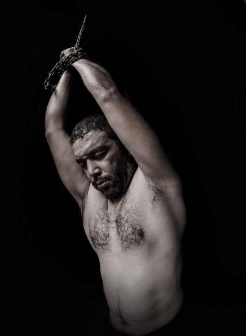 torture chains portrait