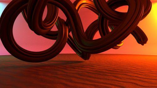 torus knot sand