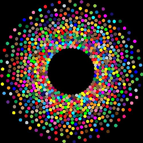 torus circles dots